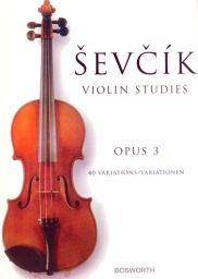 40 Variations Op.3 Violin Part
