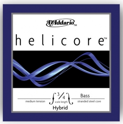 Helicore Hybrid Bass G String - medium (Straight) - 3/4
