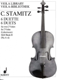 6 Duets for 2 Violas, Book II