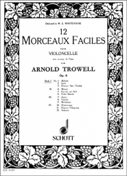 12 Morceaux Faciles (12 Easy Pieces) Op.4 - Book I