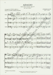 Adagio from Cello Concerto, Opus 85