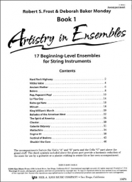 Artistry in Ensembles, Book 1 - Piano Accompaniment