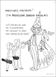 Adventures in Violinland 3A - Meet Professor Doremi Fasolati