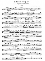 26 Etudes Op. 32 for Viola Solo