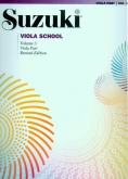 Suzuki Viola School - Volume 3 - Viola Part (Rev. Edition)