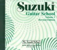 Suzuki - Escuela de guitarra - CD volumen 1