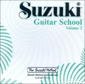 Suzuki - Escuela de guitarra - CD volumen 2