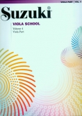 Suzuki Viola School - Volume 4 - Viola Part (Rev. Edition)
