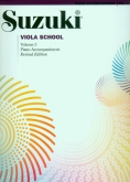 Suzuki Viola School - Volume 3 - Piano Acc (Rev. Edition)