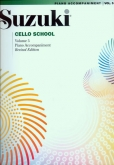 Suzuki Cello School - Volume 5 - Piano Acc (Rev. Edition)