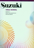 Suzuki Viola School - Volume 4 - Piano Accompaniment - Book
