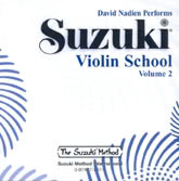 Suzuki Violin School - CD Volume 2 - Nadien