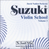 Suzuki Violin School - CD Volume 3 - Nadien