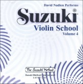 Suzuki Violin School - CD Volume 4 - Nadien