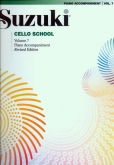 Suzuki Cello School - Volume 7 - Piano Acc (Rev. Edition)