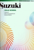 Suzuki Cello School - Volume 8 - Piano Acc (Rev. Edition)