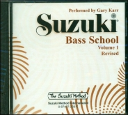 Suzuki Bass School - Volume 1 - CD - (Rev. Edition)