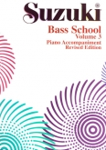Suzuki Bass School - Volume 1 - Piano Accompaniment - Book