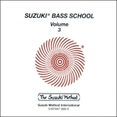 Suzuki Bass School - Volume 3 - CD - (Rev. Edition)