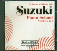 Suzuki Piano School - CD Volume 3-4 - Aide
