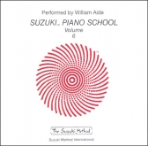 Suzuki Piano School - CD Volume 6 - Aide