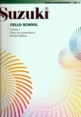 Suzuki Cello School - Volume 1 - Piano Acc (Rev. Edition)