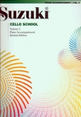 Suzuki Cello School - Volume 2 - Piano Acc (Rev. Edition)