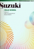 Suzuki Cello School - Volume 3 - Piano Acc (Rev. Edition)
