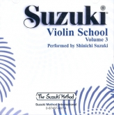 Suzuki Violin School - CD Volume 3