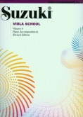 Suzuki Viola School - Volume 6 - Piano Accompaniment - Book