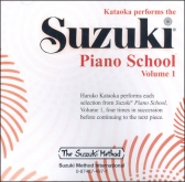 Suzuki Piano School - CD Volume 1 - Kataoka