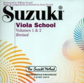 Suzuki Viola School - Volumes 1-2 - CD (Rev. Edition)
