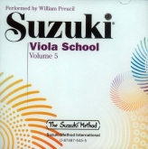 Suzuki Viola School - Volume 5 - CD (Rev. Edition)