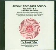 Suzuki Recorder School - Soprano Recorder - CD Volume 1-2