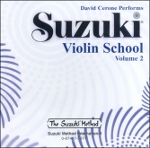 Suzuki Violin School - CD Volume 2 - David Cerone