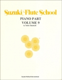 Suzuki Flute School - Volume 9 - Piano Accompaniment