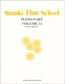Suzuki Flute School - Volume 11 - Piano Accompaniment