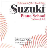 Suzuki Piano School - CD Volume 1-2 - Watts
