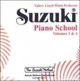 Suzuki Piano School - CD Volume 3-4 - Watts