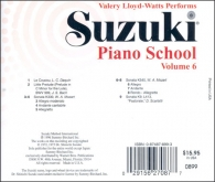 Suzuki Piano School - CD Volume 6 - Watts