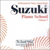 Suzuki Piano School - CD Volume 7 - Watts