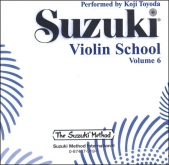 Suzuki Violin School - CD Volume 6