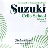 Suzuki Cello School - Volume 5 - CD (Rev. Edition)