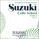 Suzuki Cello School - Volume 6 - CD (Rev. Edition)
