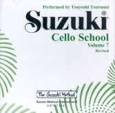 Suzuki Cello School - Volume 7 - CD (Rev. Edition)