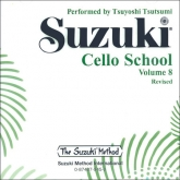 Suzuki Cello School - Volume 8 - CD (Rev. Edition)