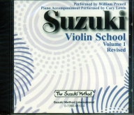 Suzuki Violin School - CD - Volume 1 Revised - William Preucil