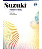 Suzuki Violin School - Volume 3 - Violin Part & CD (Rev Edition)