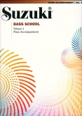 Suzuki Bass School - Volume 4 - Piano Accompaniment - Book