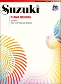 Suzuki Piano School - Volume 1 - Book and CD